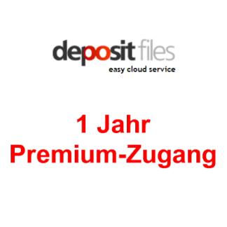 1 Jahr Premium Zugang zu Depositfiles.com
