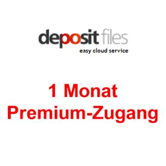 Depositfiles 1 Monat Premium Account