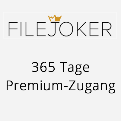 365 Tage Premium Account FileJoker.net
