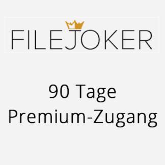 90 Tage FileJoker Premium Zugang