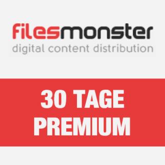 30 Tage Filesmonster Premium