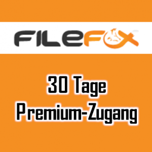 FileFox.cc Premium Account 30 Tage