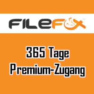 Filefox.cc 365 Tage Prmium Account