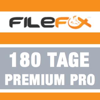 filefox premium pro 180 Tage