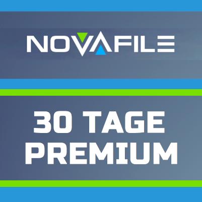 Ab sofort Premium Codes für Novafile verfügbar 1