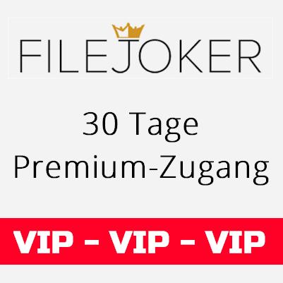 Filejoker VIP 30 Tage Premium