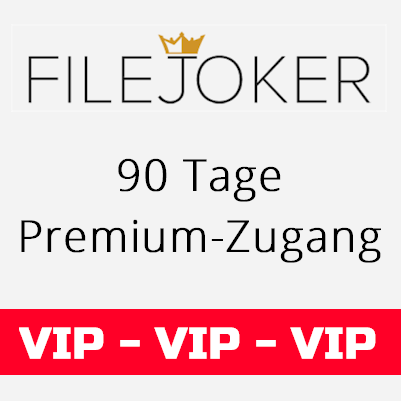 Filejoker Premium VIP 90 Tage