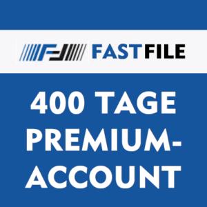 Fastfile Premium Account 400 Tage