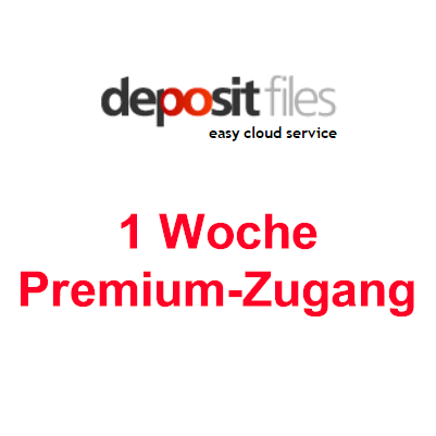 Depositfiles 1 Woche Premium Account