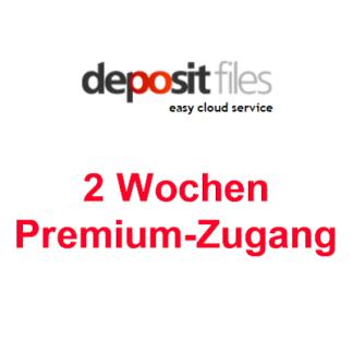 2 Wochen Premium Account zu Depositfiles