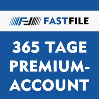 365 Tage Fastfile Premium Account