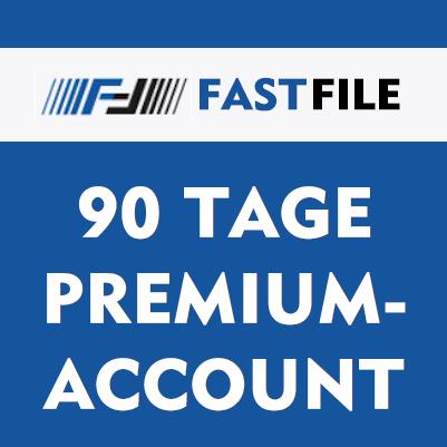 Fastfile 90 Tage Premium Account
