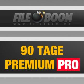 90 Tage Fileboom Premium Pro