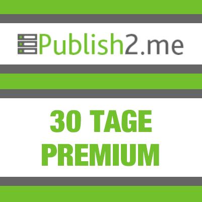 30 Tage Publish2Me Premium Key