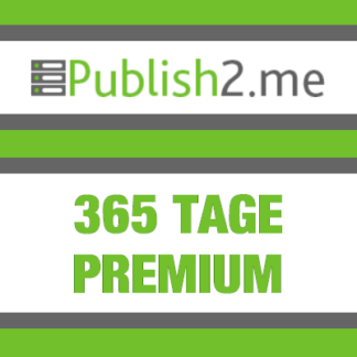 365 Tage Publish2Me Premium Account