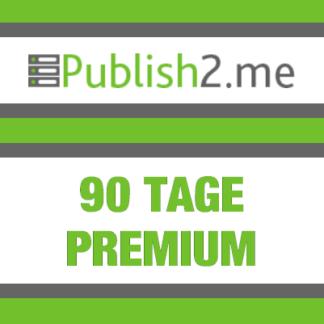 90 Tage Publish2Me Premium Pro
