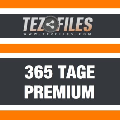 365 Tage Tezfiles Premium Account